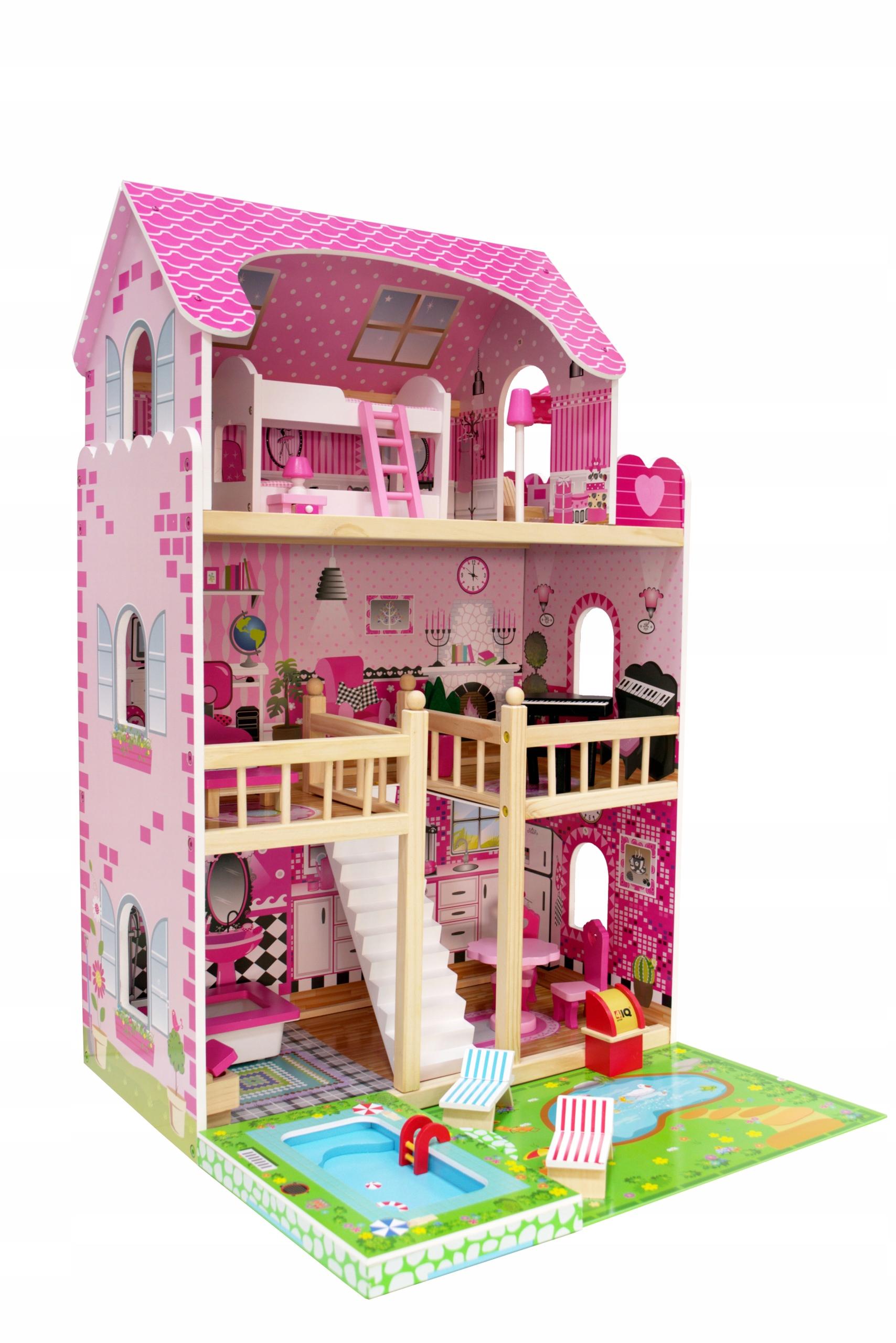 Domček pre bábiky DARIA veľkosť jazierka a bazéna pre LOL