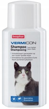 Beaphar Szampon dla kotów na pchły kleszcze 200ml