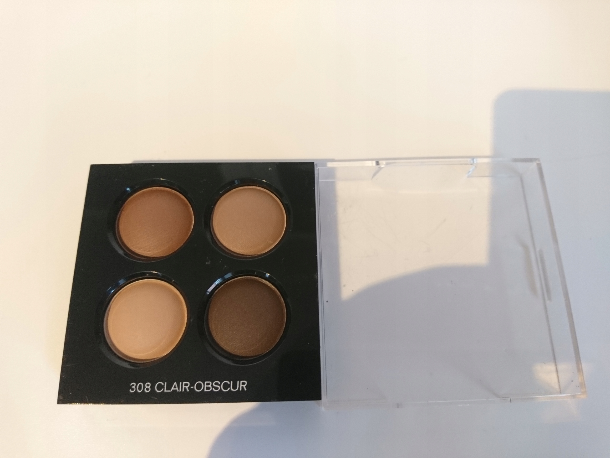 75086f42 Chanel Les 4 Ombres eyeshadow 308 Clair Obscur