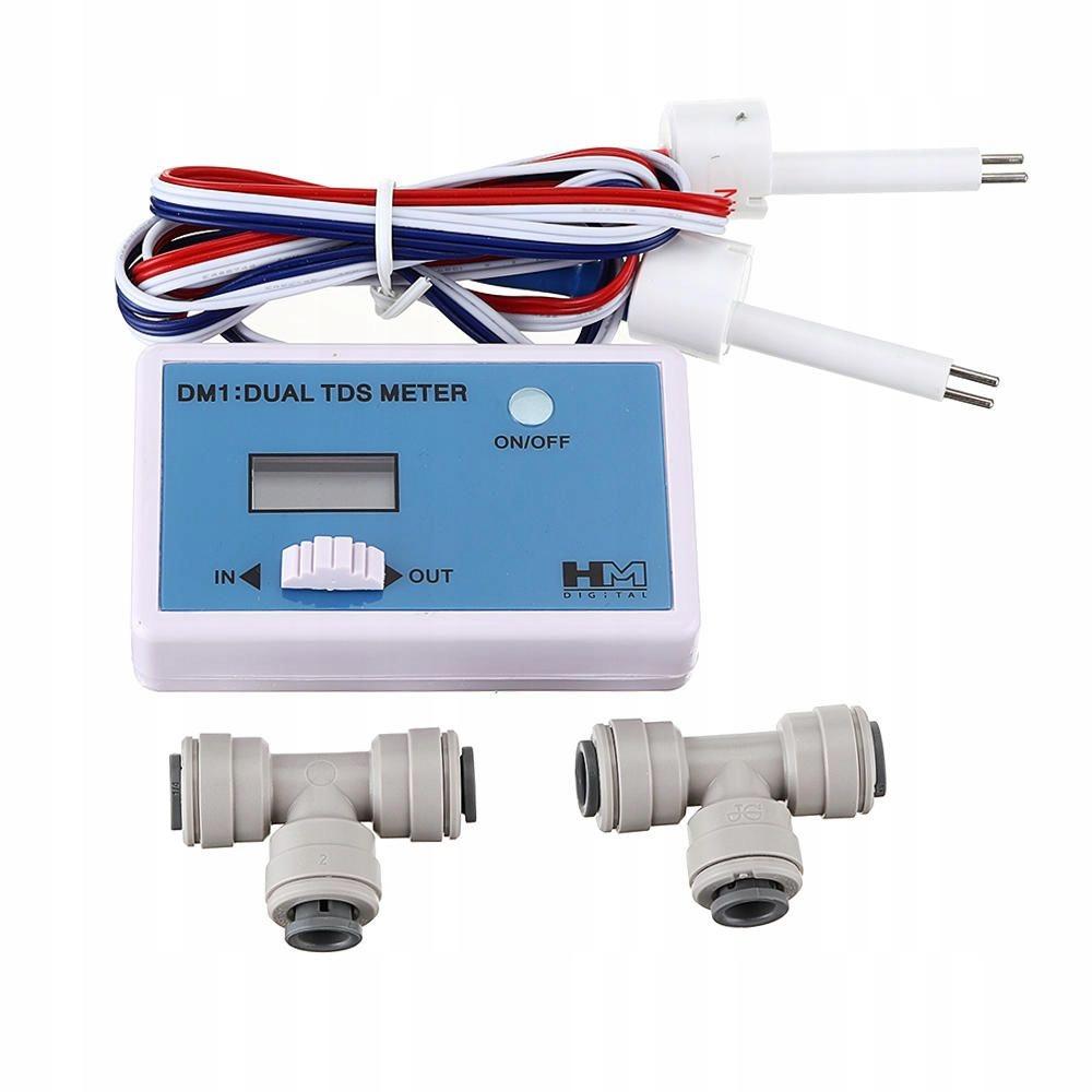 Na DM1 TDS meter DUAL monitorovanie kvality vody