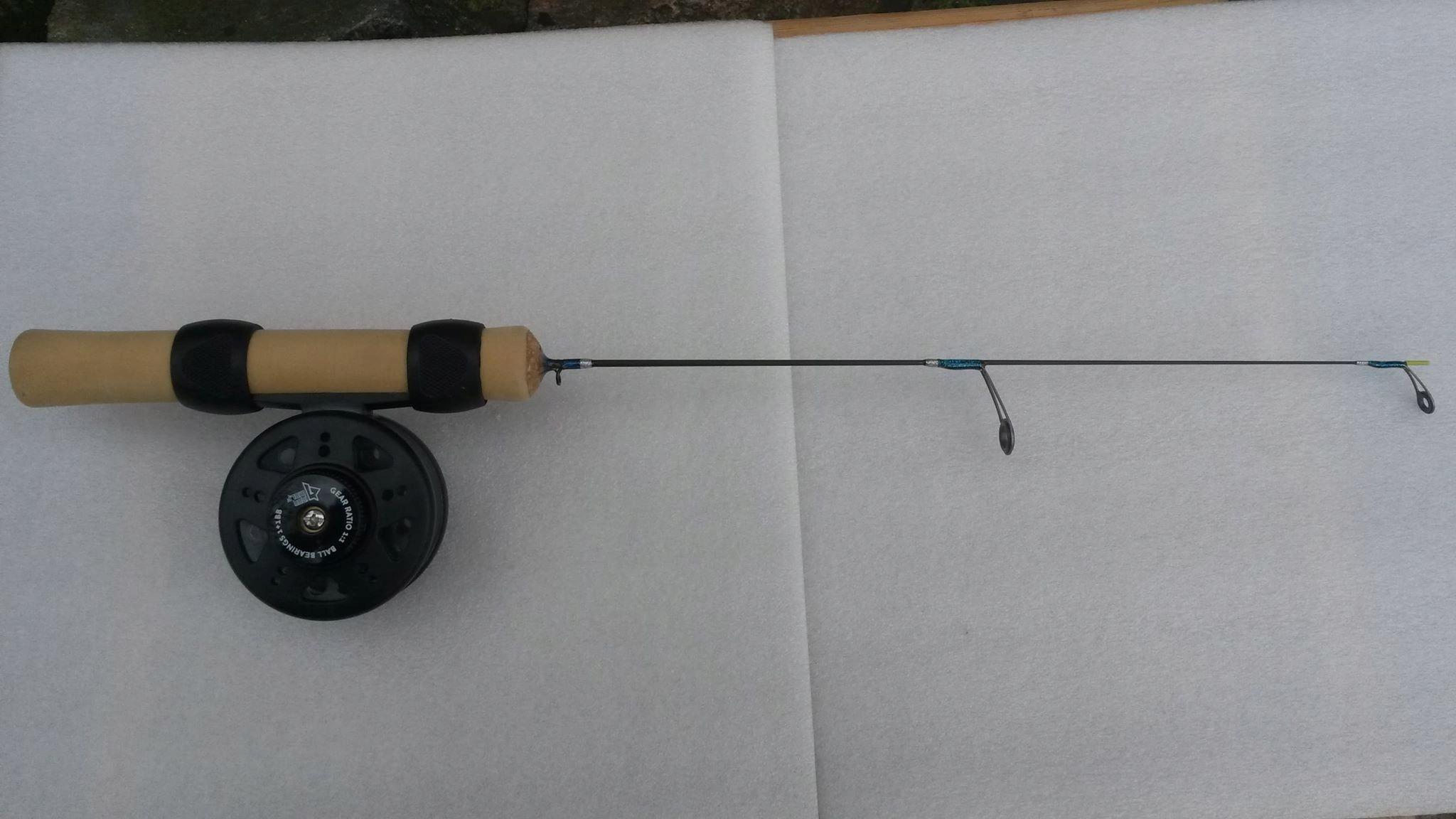 rybársky prút na rybolov na ľade, OXID + ŽELEZO VLK RIZ50060