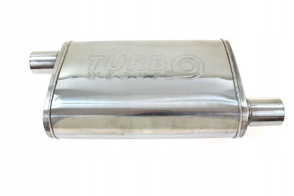 глушитель может сквозное turboworks 63mm 2 5