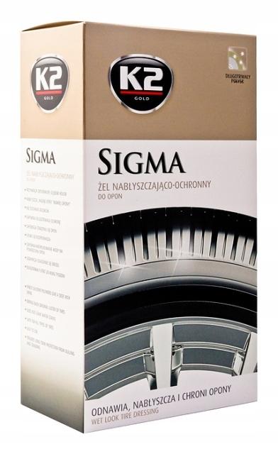 K2 SIGMA защитный глянцевой гель для губки шины