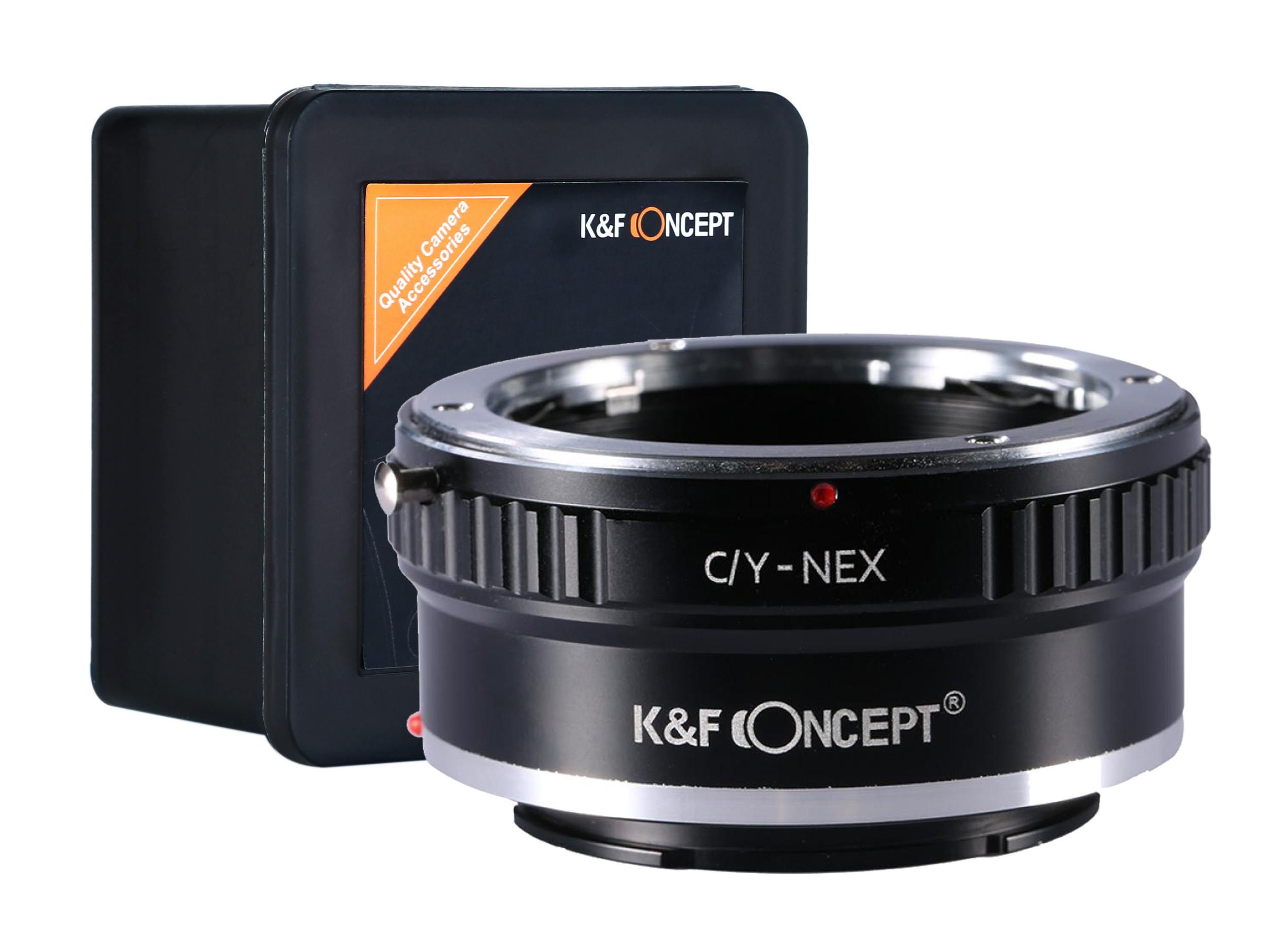 Купить K&F АДАПТЕР Contax Yashica C/Y-NEX E-MOUNT на Otpravka - цены и фото - доставка из Польши и стран Европы в Украину.