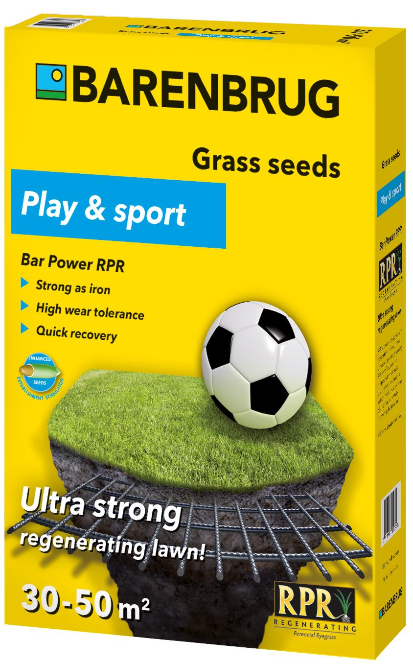 Трава Barenbrug Uniwersal RPR Play & Sport 1кг