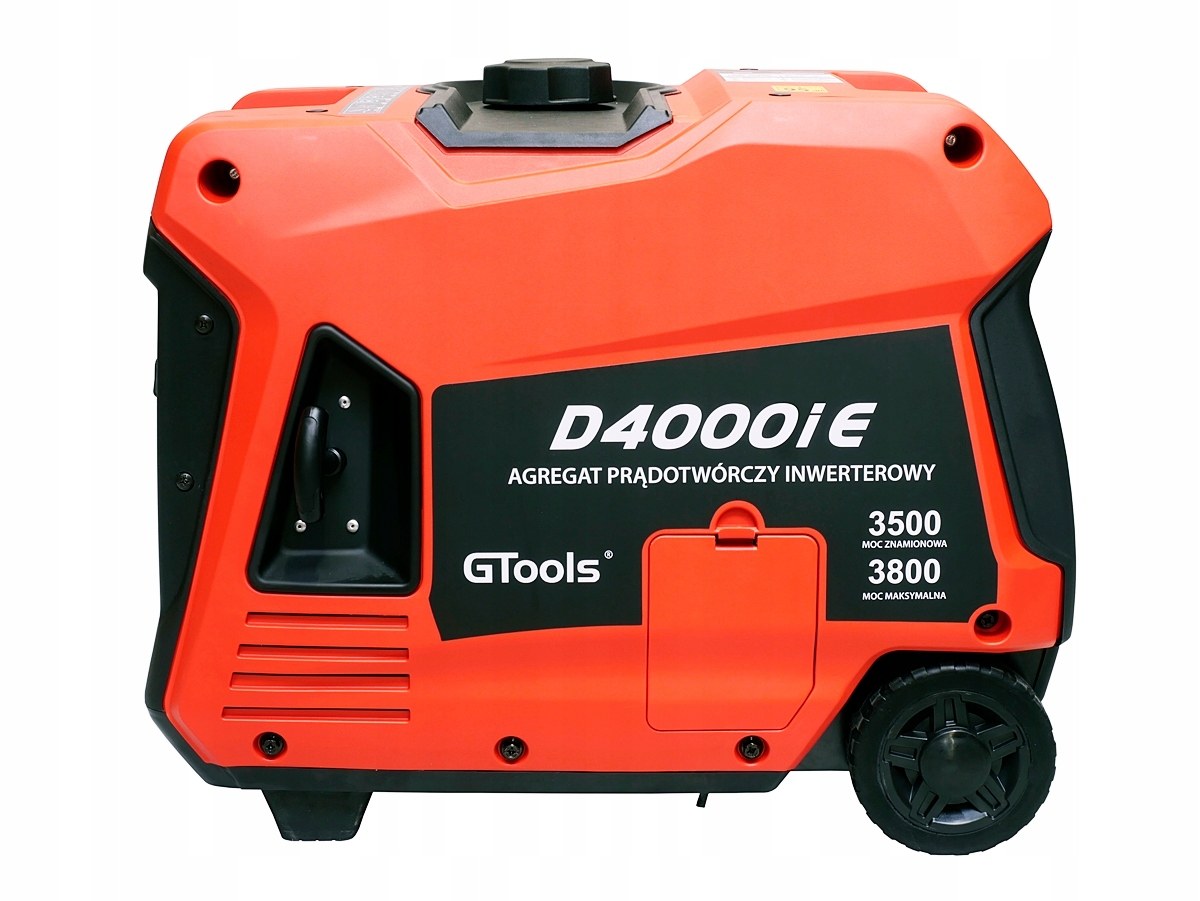 AGREGAT GENERATOR BENZYNOWY GTOOLS D4000iE