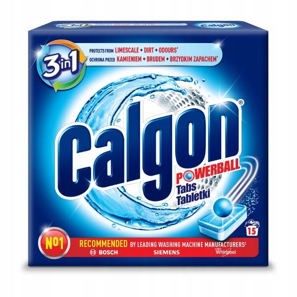 Calgon Таблетки для удаления накипи Капсулы для Стиральной машины 15