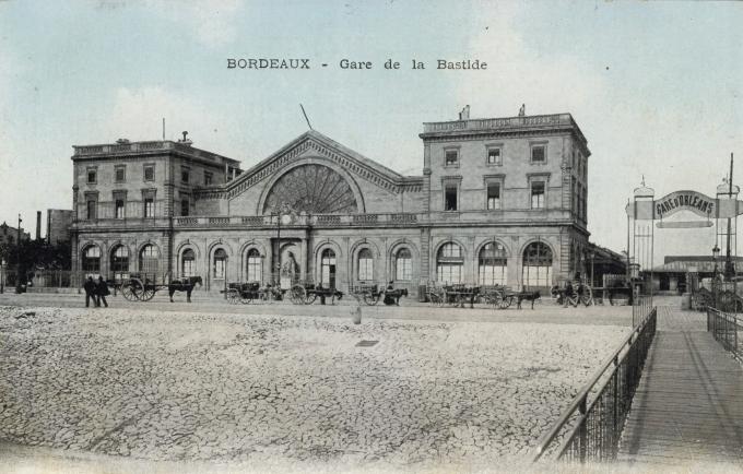 Bordeaux - Gara de la bastide. 191-?
