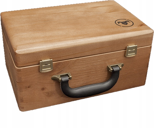 Item Suitcase wooden Poland manufacturing solid equipment