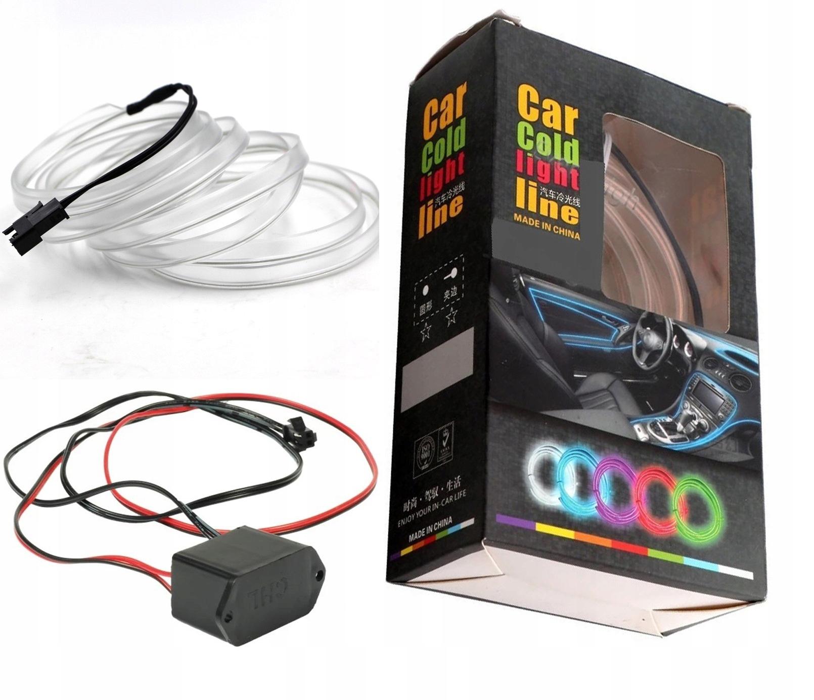 1m Волоконно-оптический кабель el wire led лента панель ambient