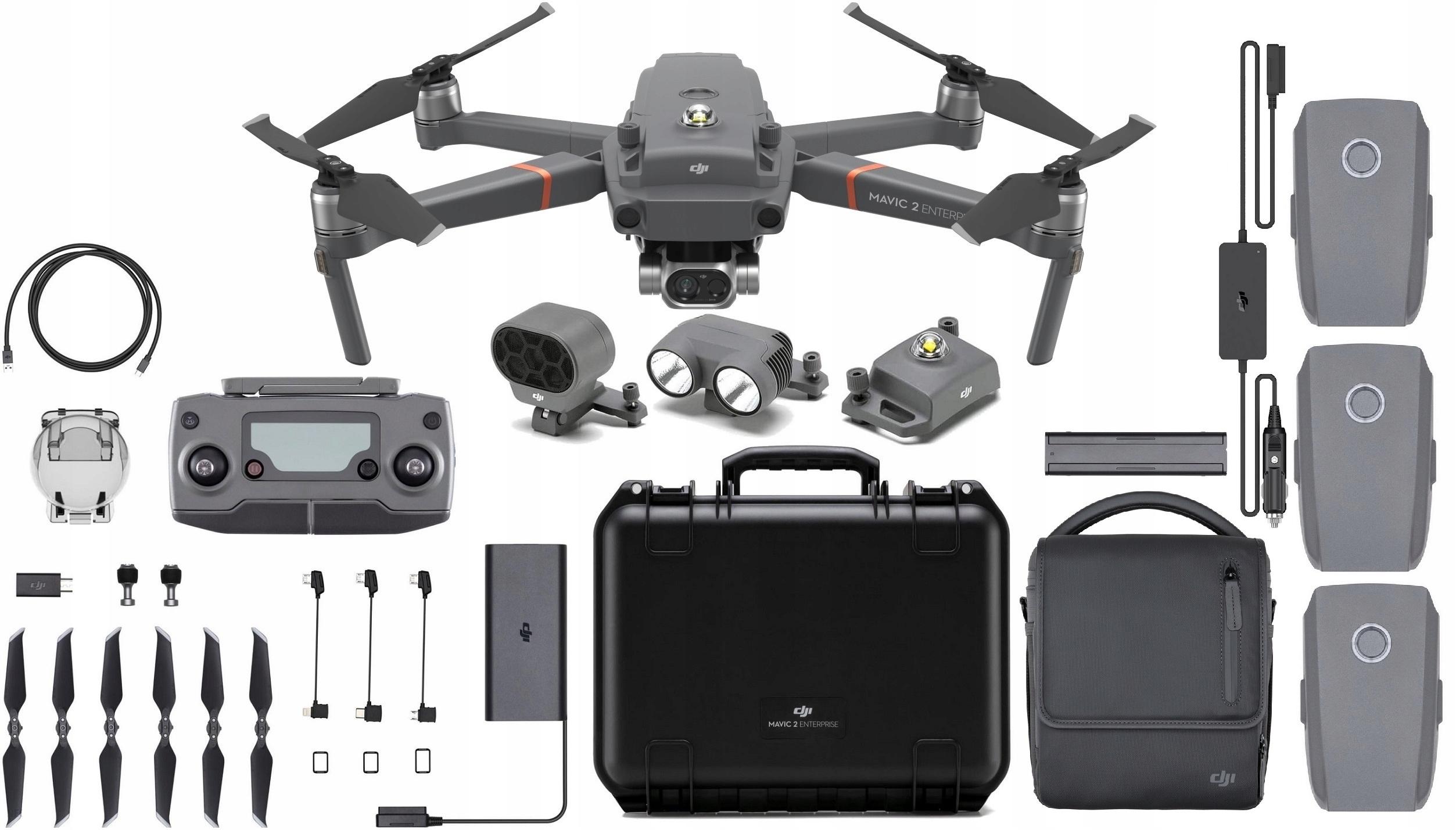 Dron DJI Mavic 2 Enterprise Dual Combo Termowizja