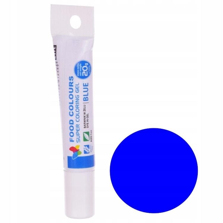 Гель-краситель FOOD COLORS 20g-Blue