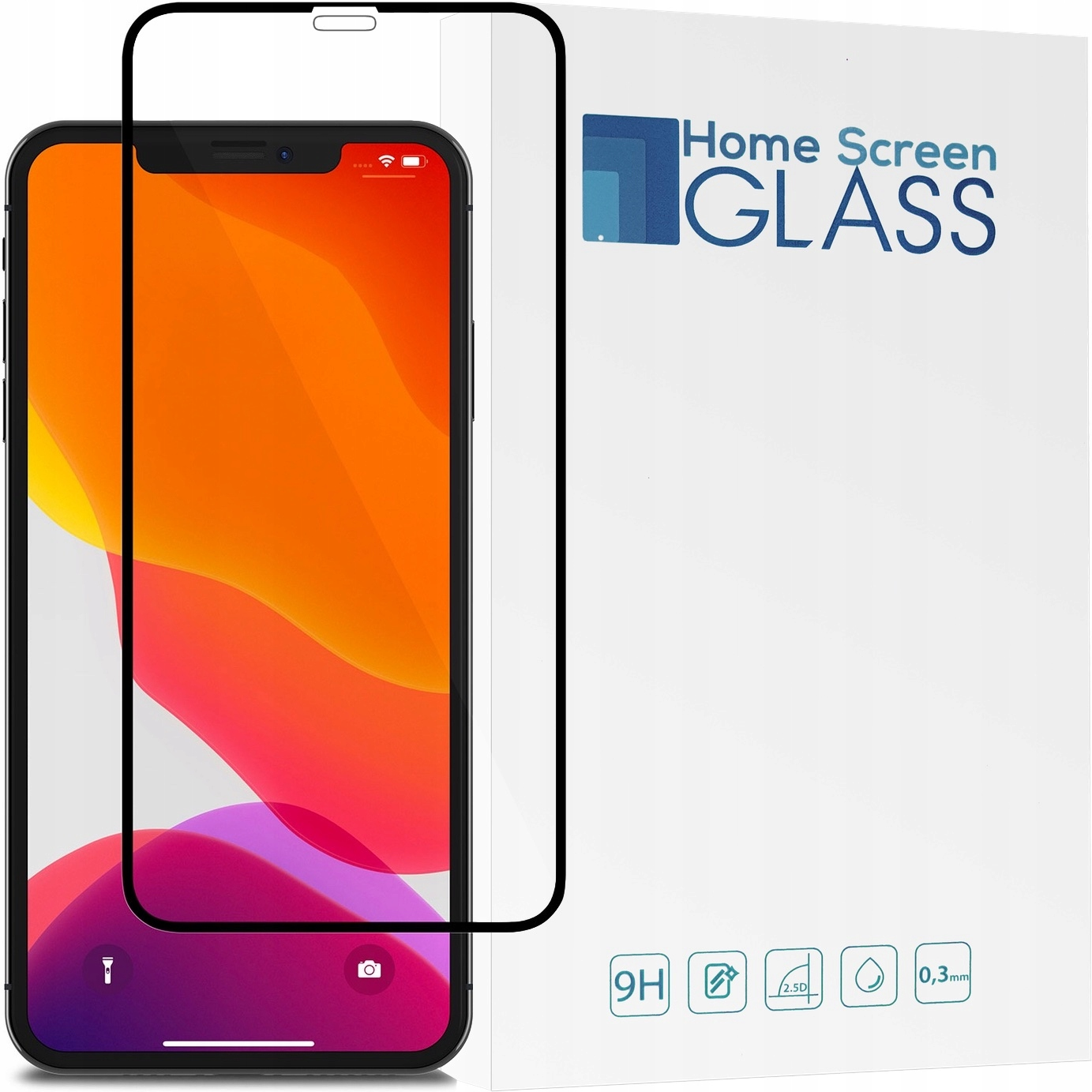 Hs Glass Szkło Hart 3D Cały Ekran Do Iphone 11 6,1