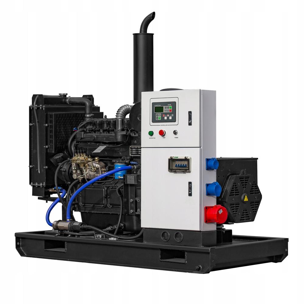 Agregat Otwarty 30 kW 40 kVA Stacjonarny AVR SZR