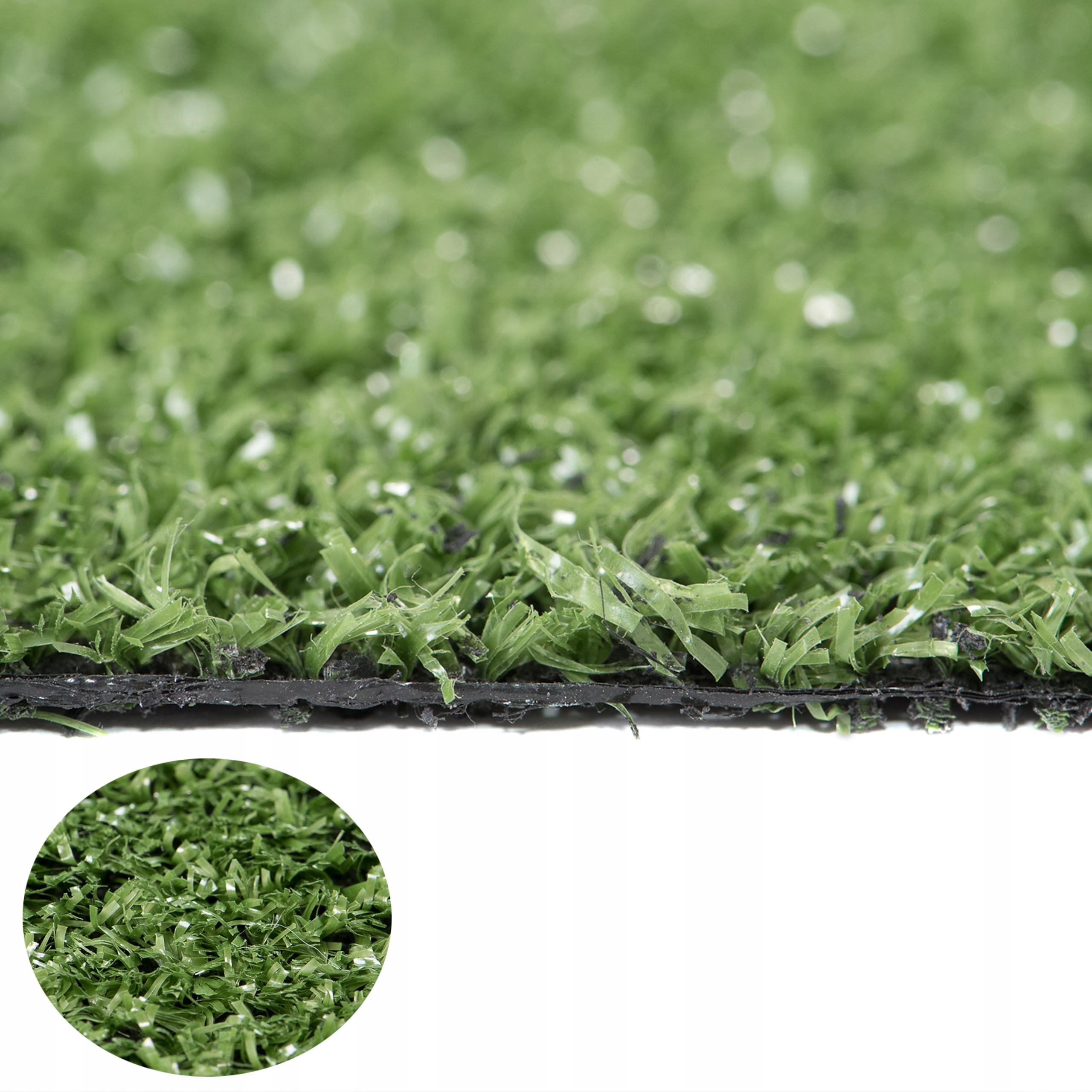 Искусственная трава Уимблдон 4М зеленая площадка терраса