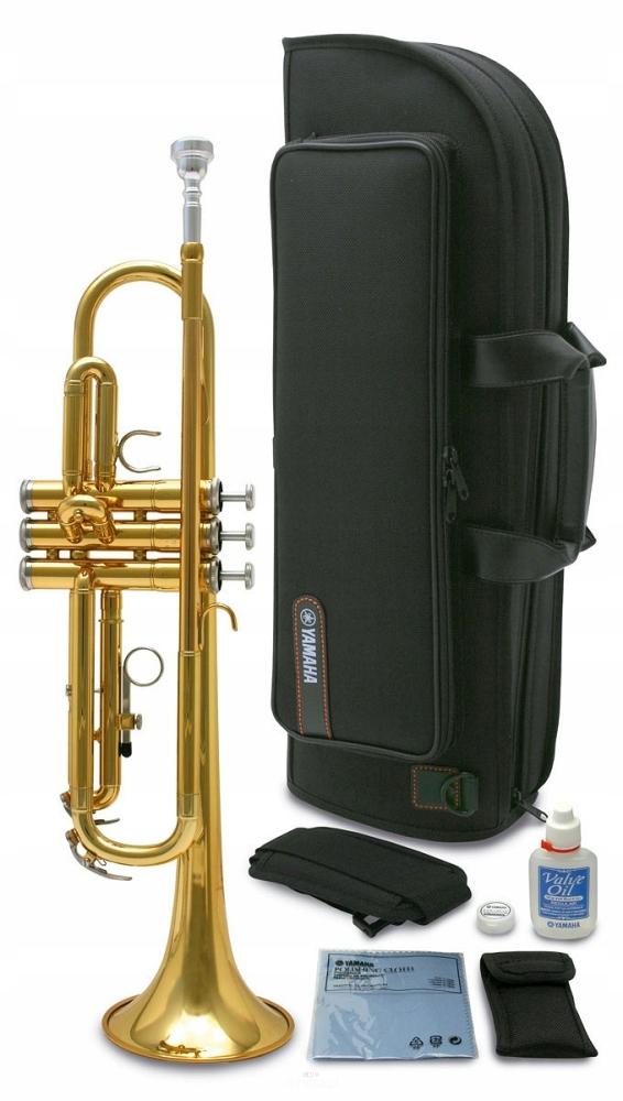 Item Trumpet Yamaha YTR 2330 gold Bb-KIT -ACCESSORIES