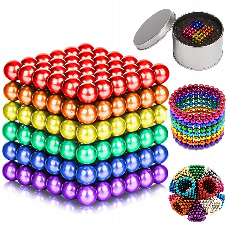 neocube MAGNETIC BALLS 216 ks 5mm 641