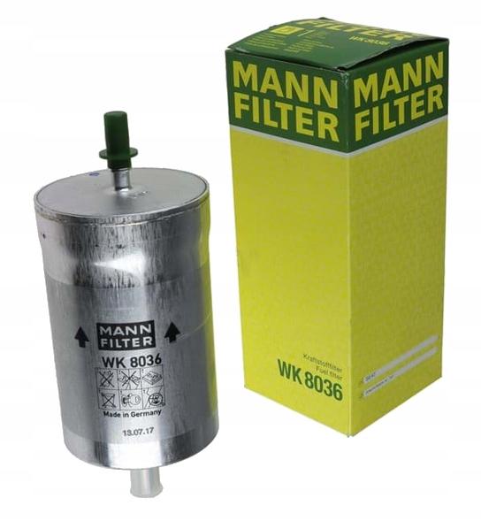 mann фильтр топлива seat exeo 20 tdi exeo st