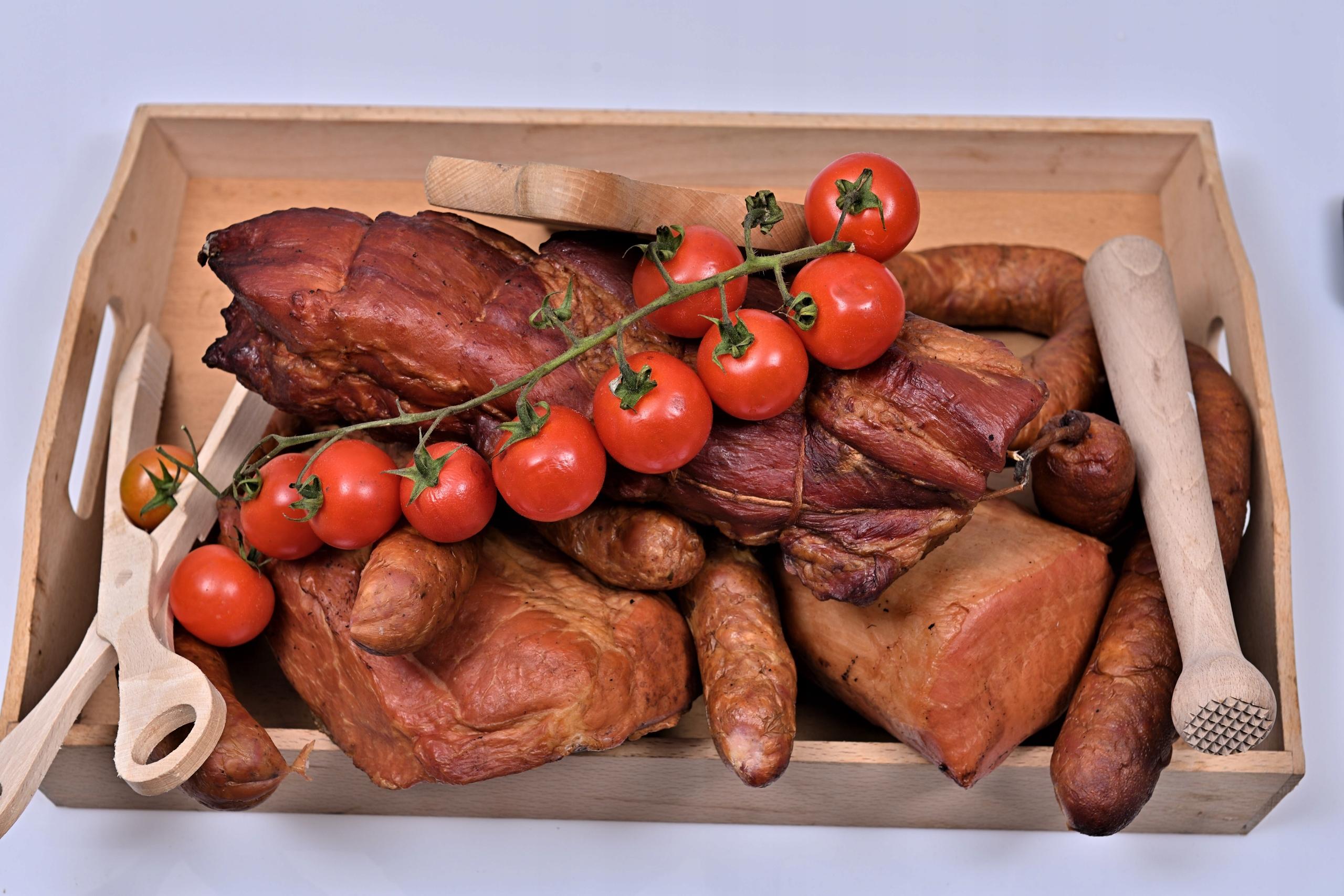 Zestaw wędzonek naturalnych na ciepło ok.4,5 kg