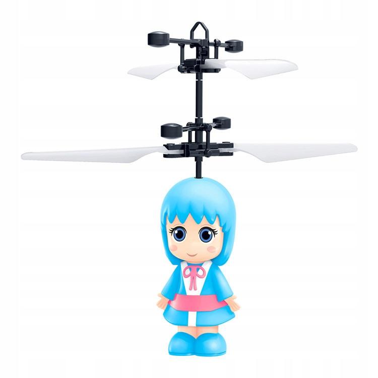 Latająca lalka helikopter sterowana ręką indukcja