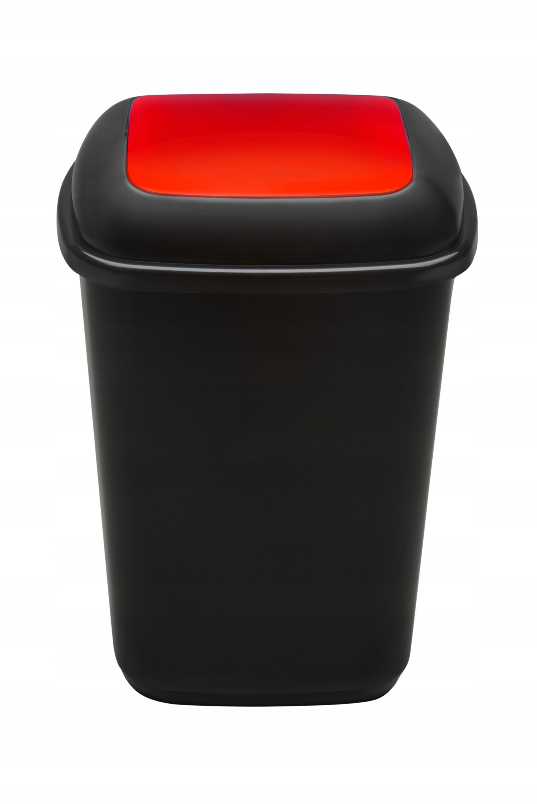 КОРЗИНА 45Л QUATRO сортировка отходов металл