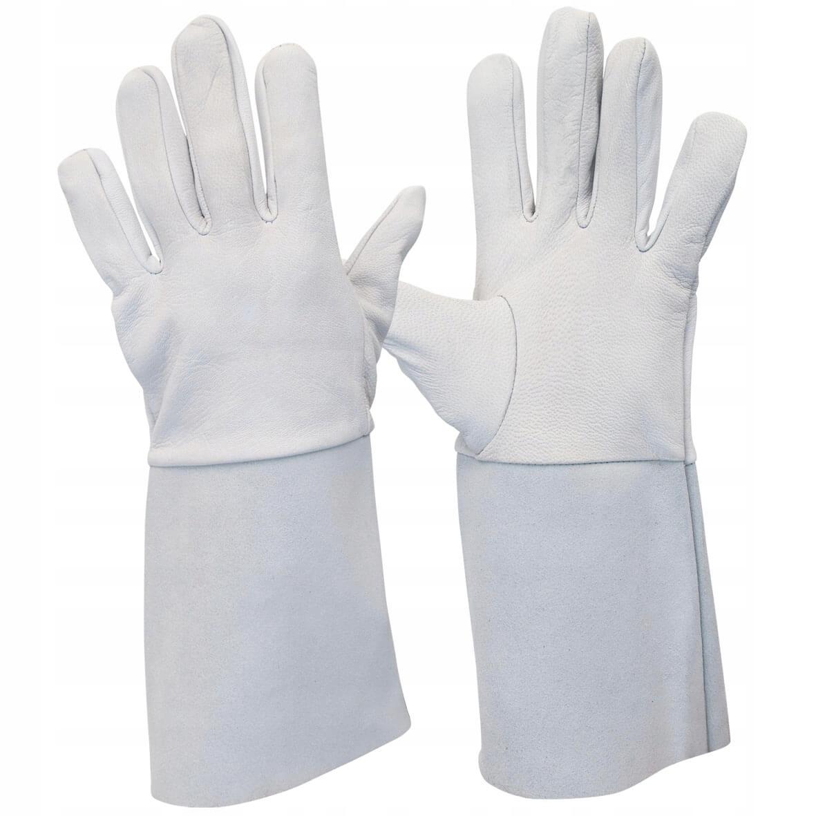 TIG сварочные перчатки кожа козья кожа HIT