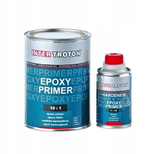 TROTON EPOXY PRIMER PODKŁAD EPOKSYDOWY 1kg + UTWAR