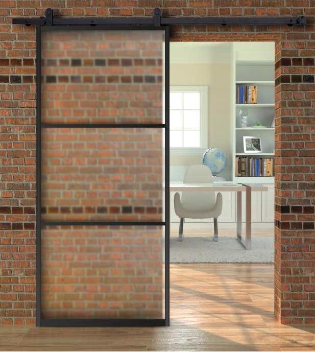 Mobilný systém Twin Umenie Odrazové sklo dverí
