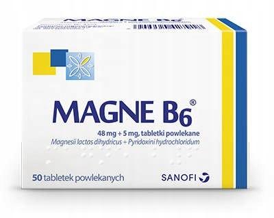 Купить МАГНЕ B6 50tabl МАГНИЙ НЕРВЫ СТРАХИ БЛИН на Eurozakup - цены и фото - доставка из Польши и стран Европы в Украину.