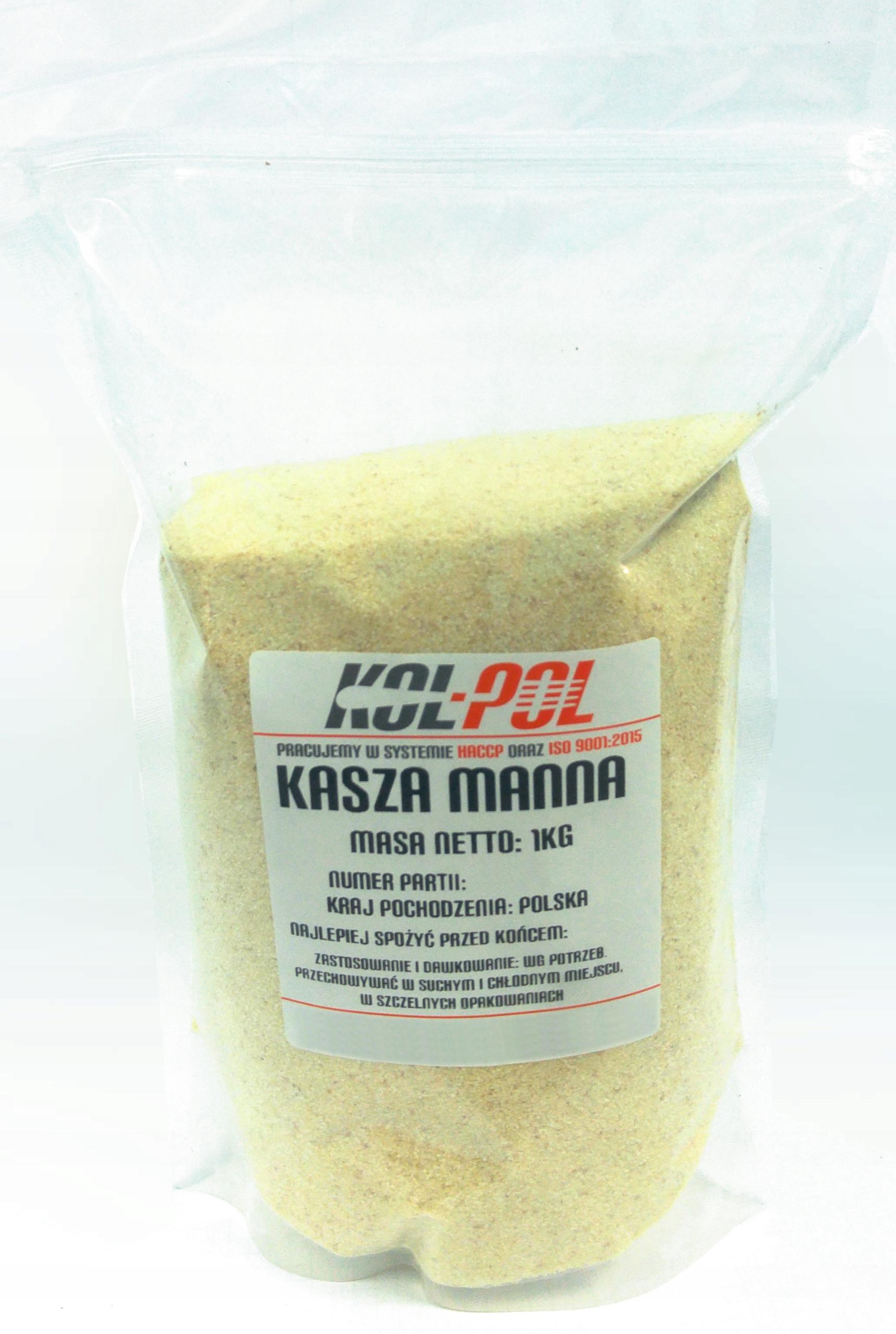 Kasza manna grysik 1kg 1000g JAKOŚĆ