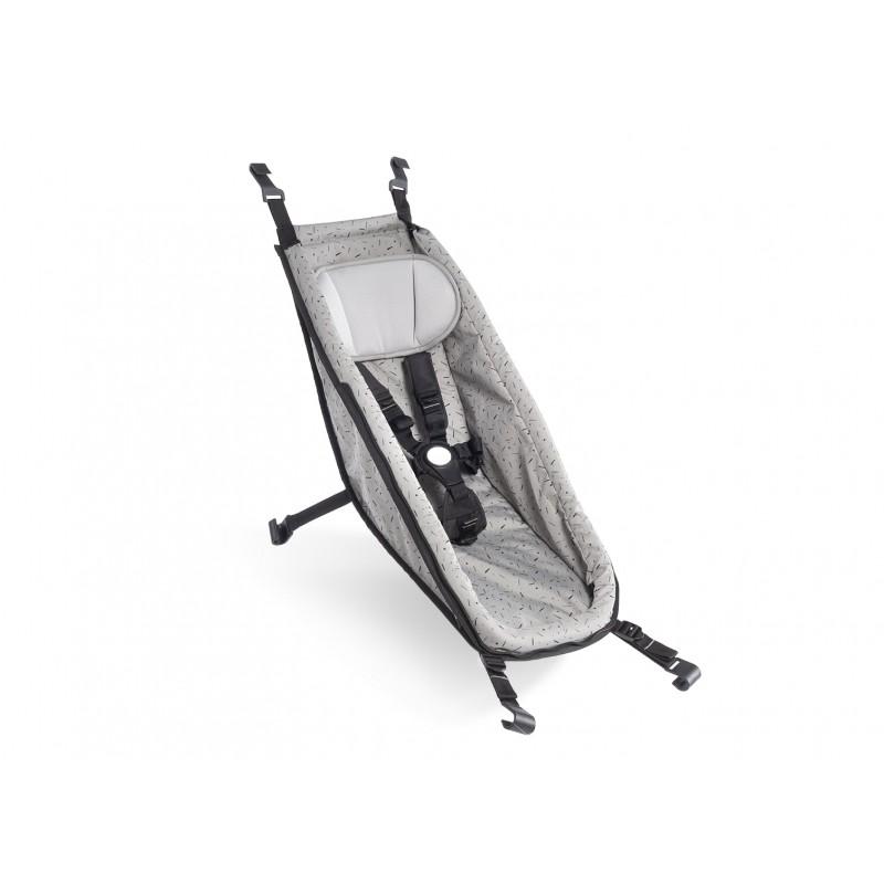 HAMAK CROOZER BABY SEAT 2014 - 2020 Stone Grey
