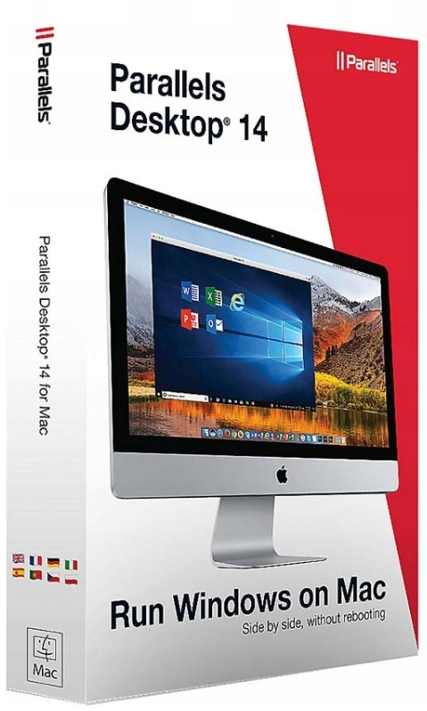 Купить Parallels Desktop 14 for macOS PL пожизненная версия на Otpravka - цены и фото - доставка из Польши и стран Европы в Украину.