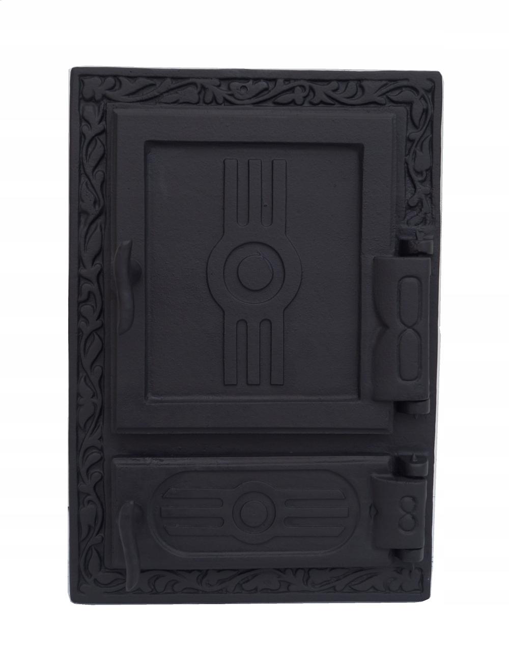 dvere z liatinovej pece 46,5 x 32 cm