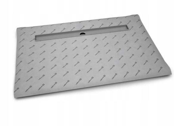 Obkladová sprchová vanička 90x80, výpust 65, dlažba 8-12 mm