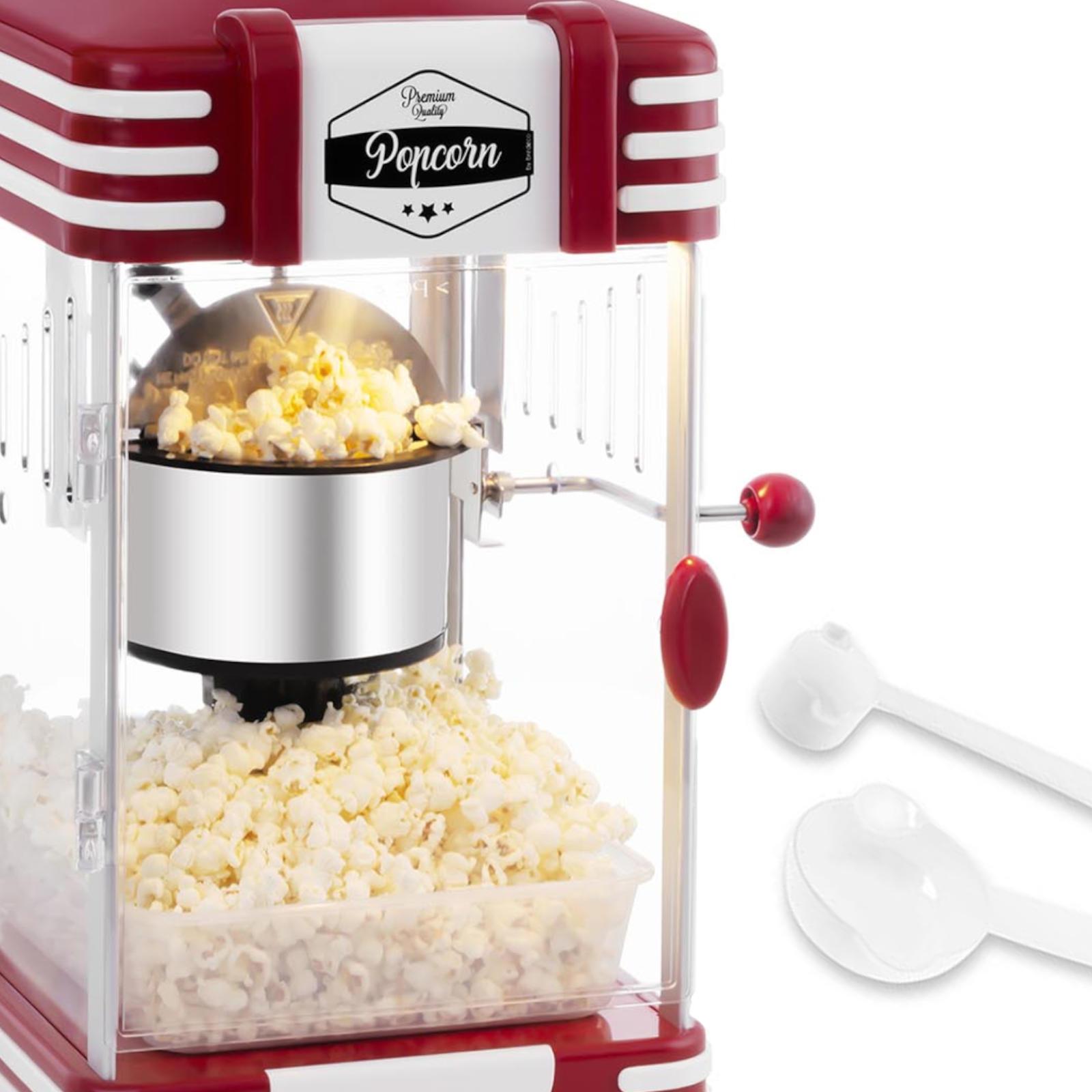 Domáci stroj na výrobu popcorn RETRO Bredec