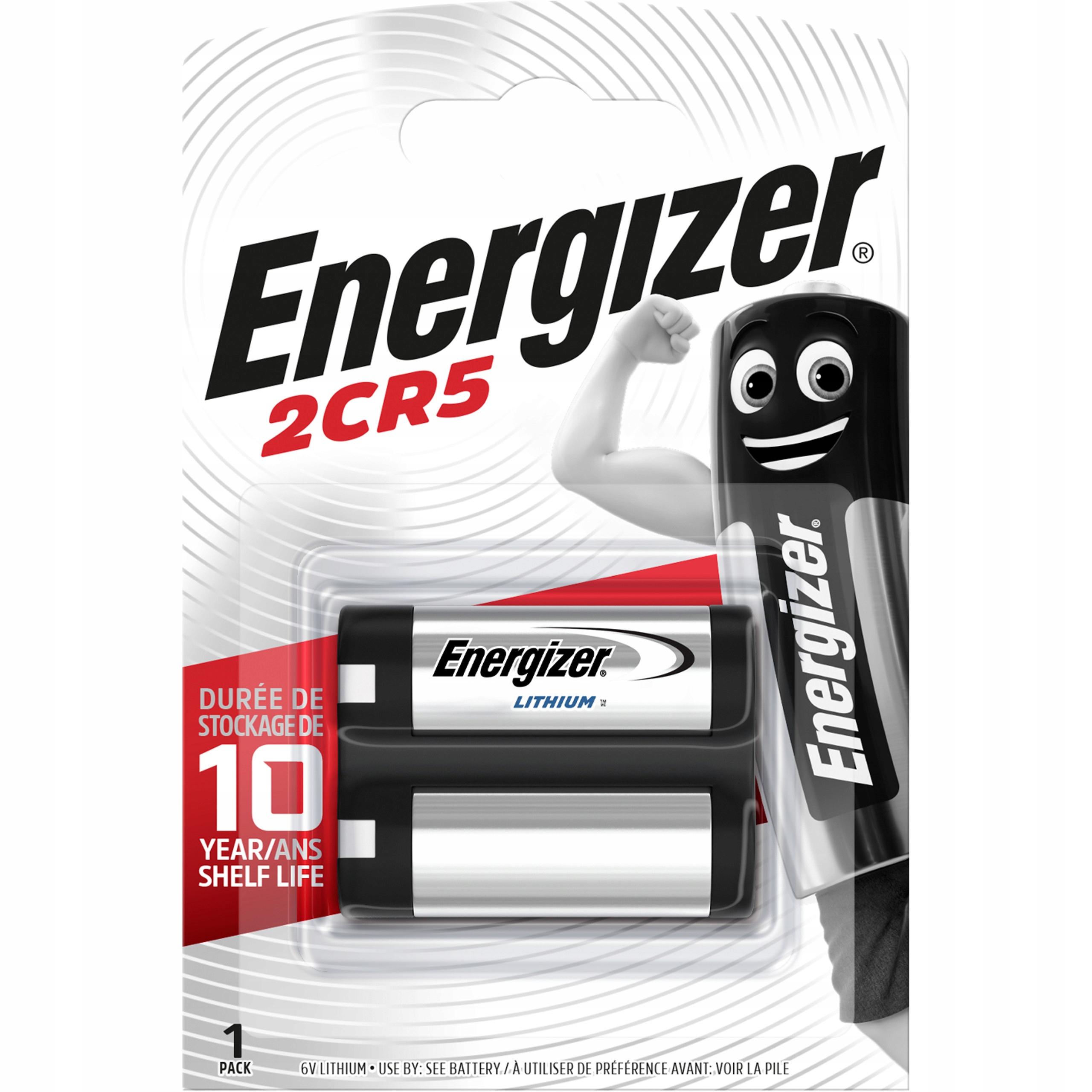 Energizovacia batéria Foto 2CR5 DL245 Lithium 6V