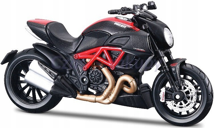 DUCATI Diavel Carbon motocykl model 1:12 Maisto