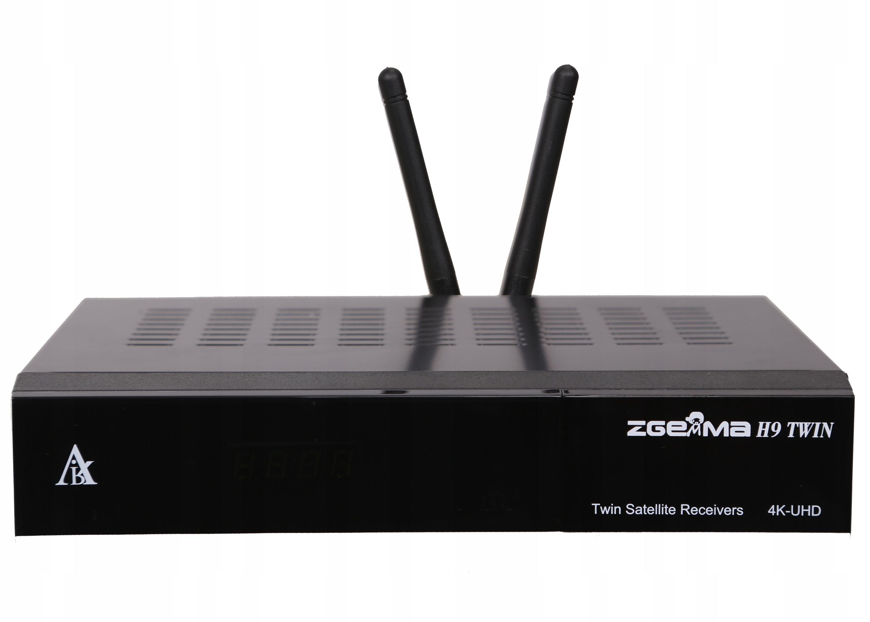 ZGEMMA H9 TWIN 4K ENIGMA2 Cccam Oscam IPTV Kodi Marka Zgemma