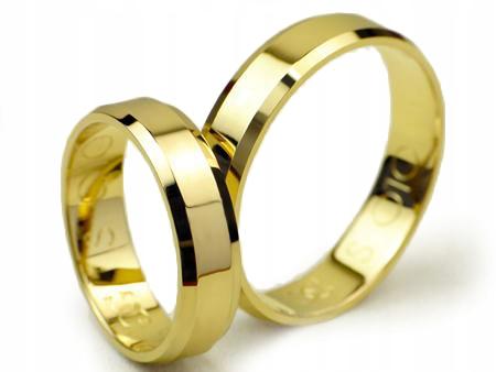 Item GOLDRUN GOLD WEDDING BANDS 5 MM 333 CHAMFER
