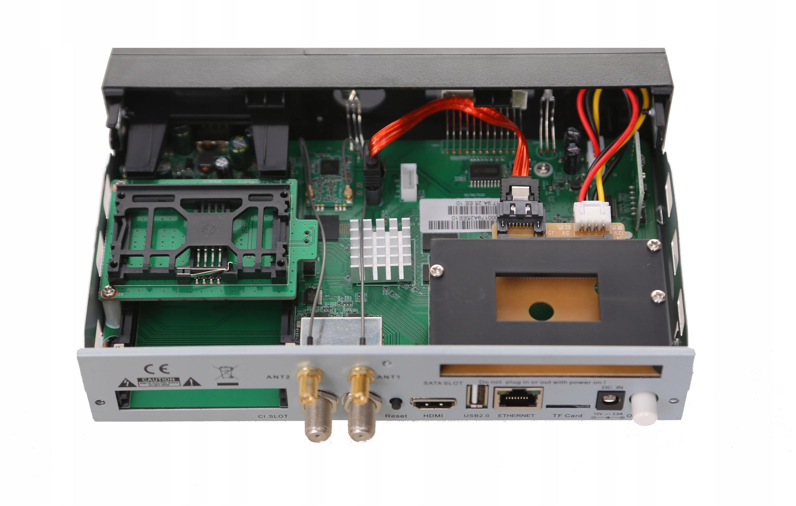 ZGEMMA H9 TWIN 4K ENIGMA2 Cccam Oscam IPTV Kodi EAN 6690149921164