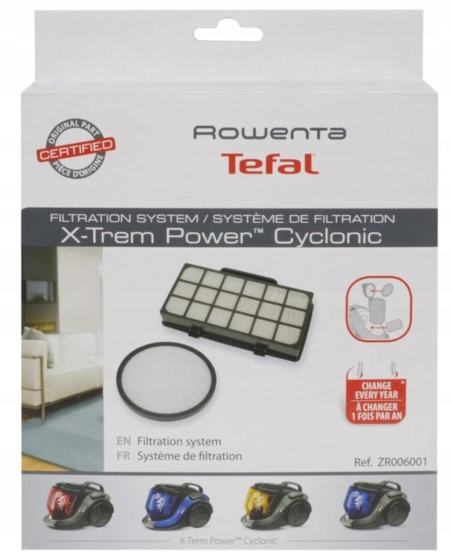 Sada filtrov HEPA TEFAL ZR006001