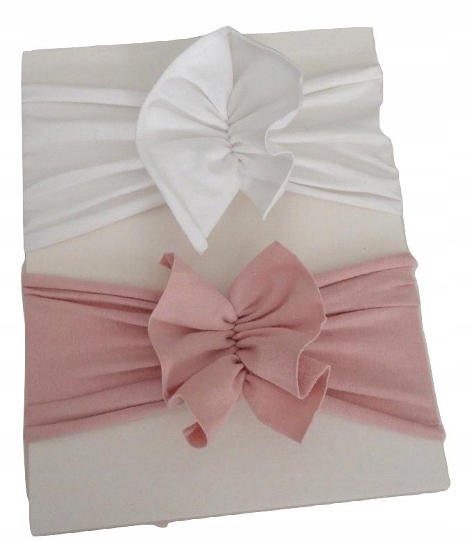 čelenka turban kravatu hlavový most retro luk 2 Ks