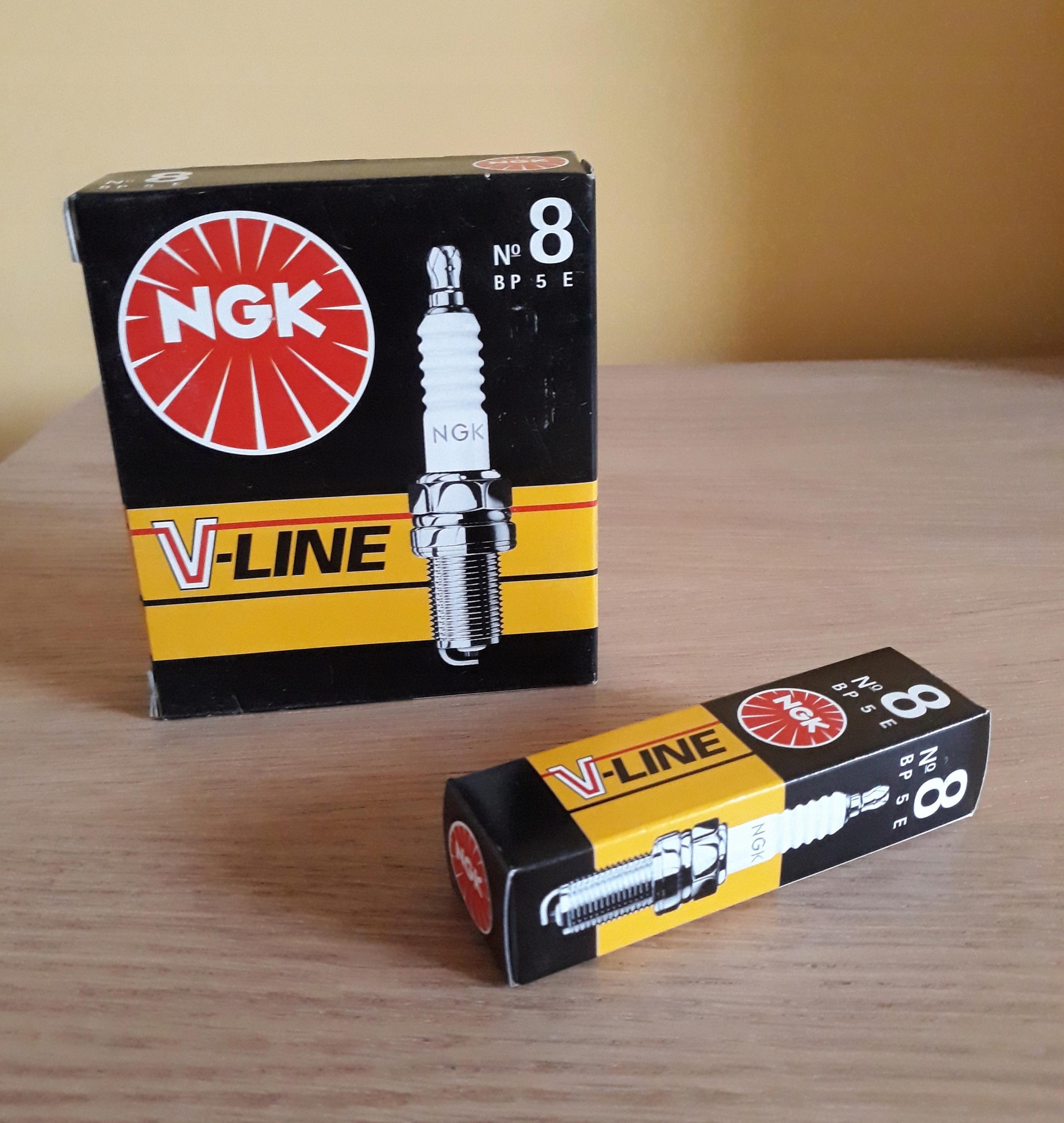 Свеча зажигания NGK V-LINE 8 BP5E
