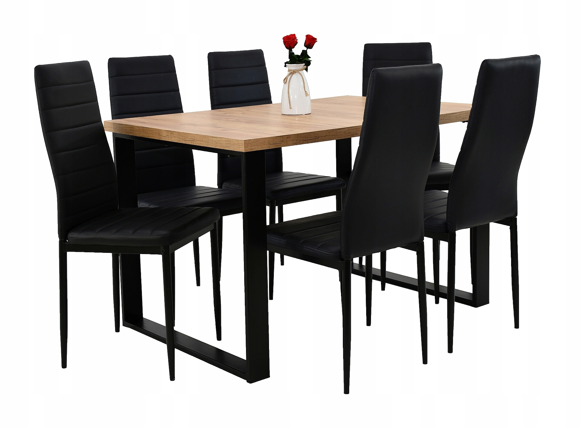 6 stoličkami pre kuchyňu a tabuľku s hard top