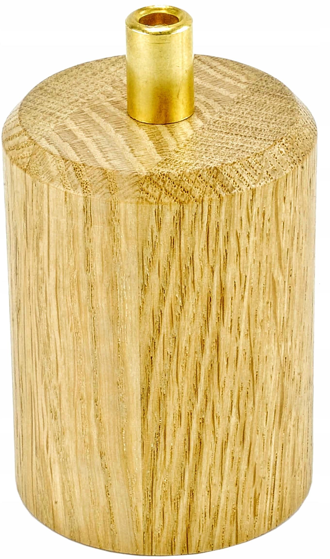 lampholder e27 dubového dreva s lock, spider RETRO