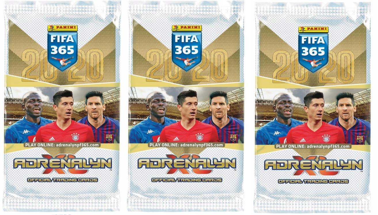 50 пакетиков - FIFA 365 2020 - 10 Limited Edition !