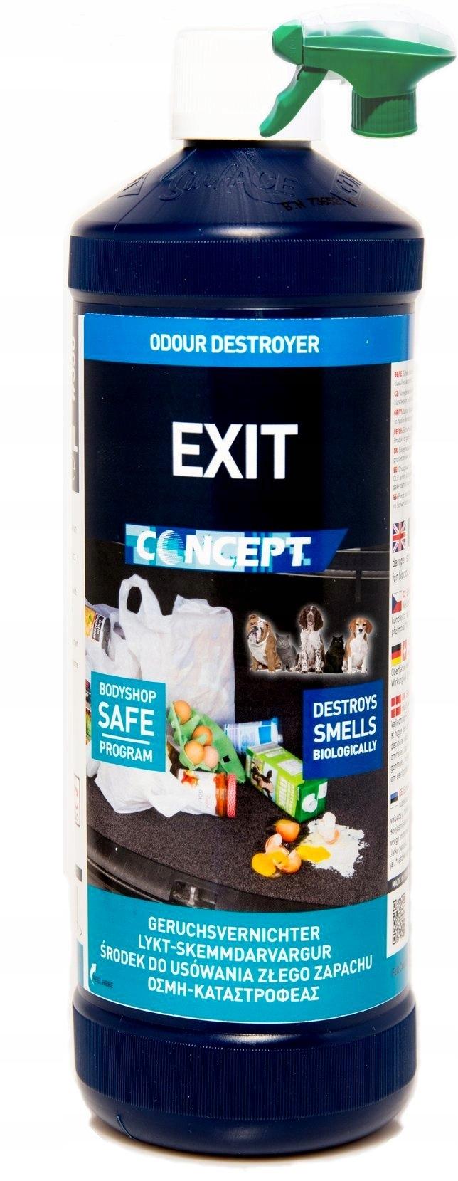 EXIT CONCEPT удаление неприятного запаха 1Л