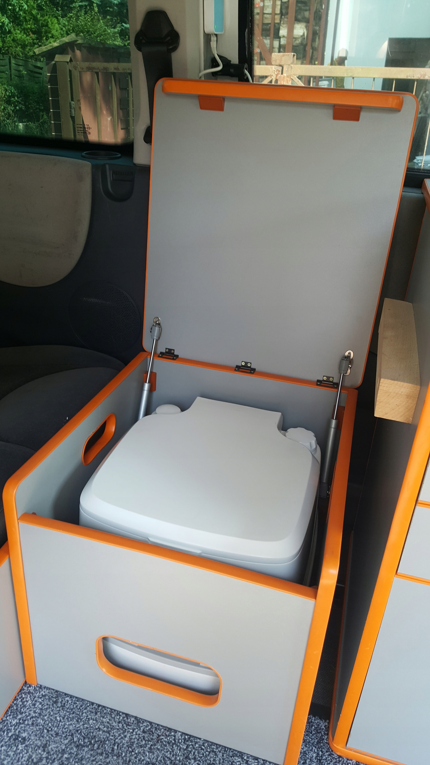 Toaleta szafka z toaletą Thetford kamper camper