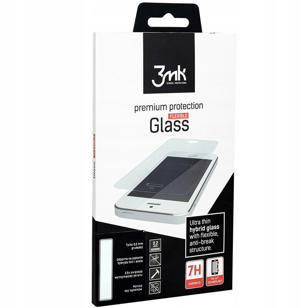 Szkło hybrydowe 3mk do Huawei P Smart Pro,Flexible
