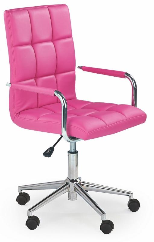 Otočná stolička GONZO 2 Rose Eko Kože/Chróm, Pohodlné